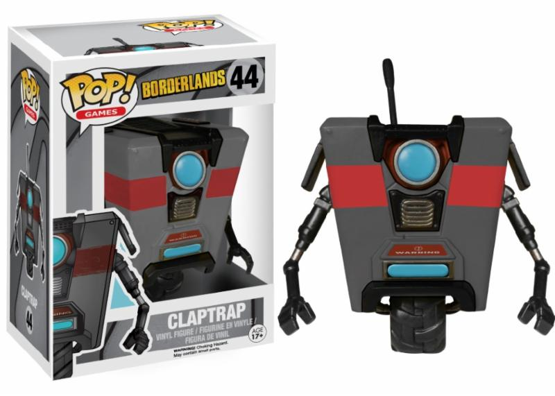 Photo du produit BORDERLANDS FUNKO POP CLAPTRAP BLACK LIMITED EDITION