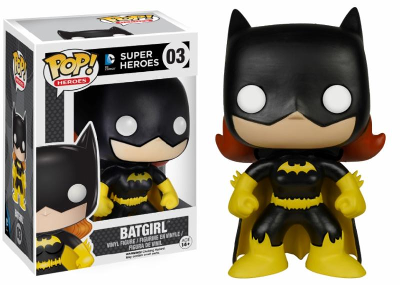 Photo du produit DC CLASSICS FUNKO POP BATGIRL BLACK LIMITED EDITION