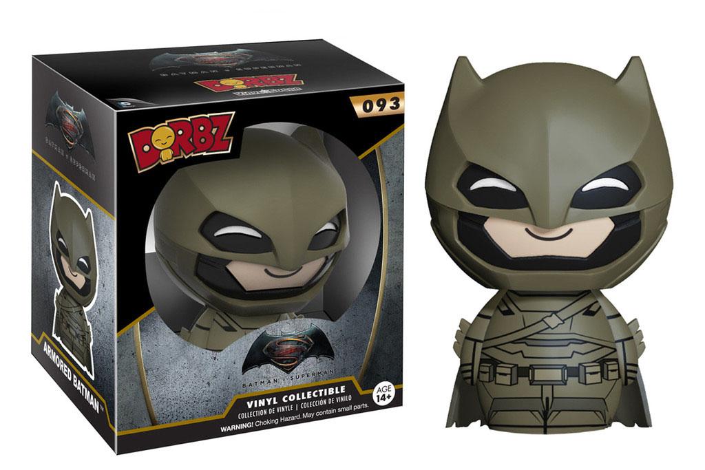 Photo du produit BATMAN VS SUPERMAN FUNKO DORBZ FIGURINE ARMORED BATMAN