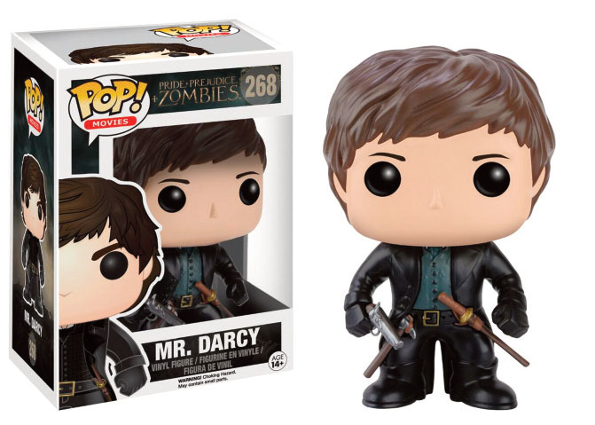 Photo du produit ORGUEIL ET PREJUGES ET ZOMBIES FUNKO POP! MR. DARCY