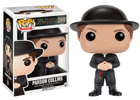 Photo du produit ORGUEIL ET PREJUGES ET ZOMBIES FUNKO POP! PARSON COLLINS