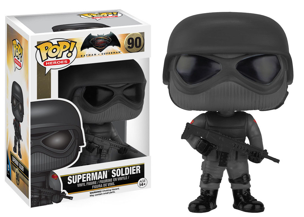 Photo du produit BATMAN VS SUPERMAN FIGURINE FUNKO POP! HEROES SUPERMAN SOLDIER