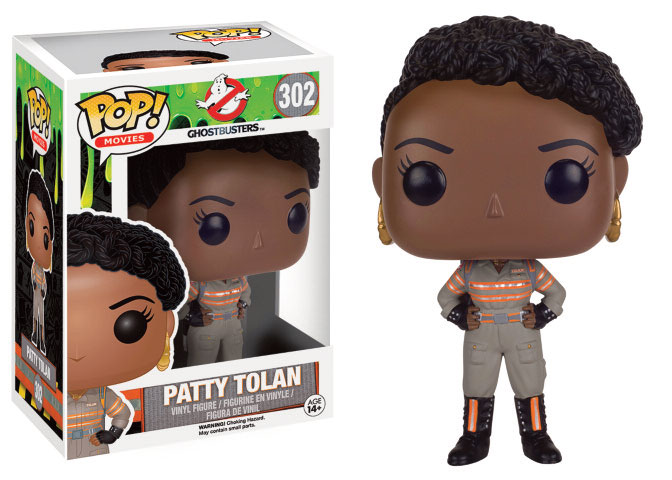 Photo du produit SOS FANTOMES 2016 POP! MOVIES VINYL FIGURINE PATTY TOLAN