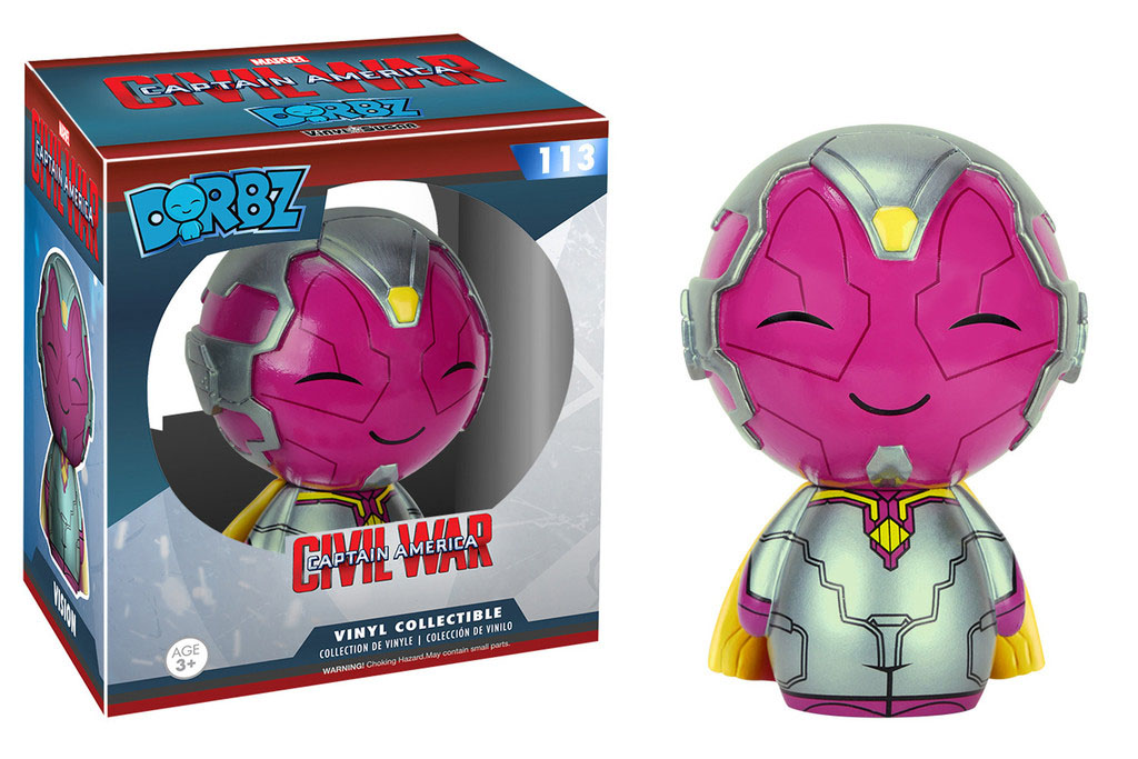 Photo du produit CAPTAIN AMERICA CIVIL WAR FUNKO DORBZ FIGURINE VISION
