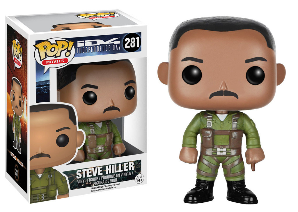 Photo du produit INDEPENDENCE DAY FIGURINE FUNKO POP! STEVE HILLER