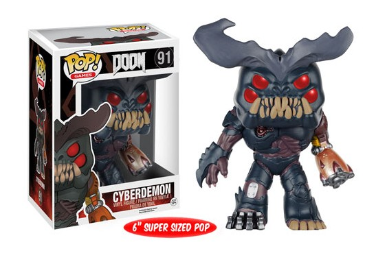 Photo du produit DOOM FUNKO POP CYBERDEMON