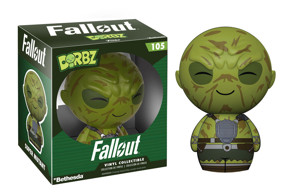 Photo du produit FALLOUT FUNKO DORBZ FIGURINE SUPER MUTANT