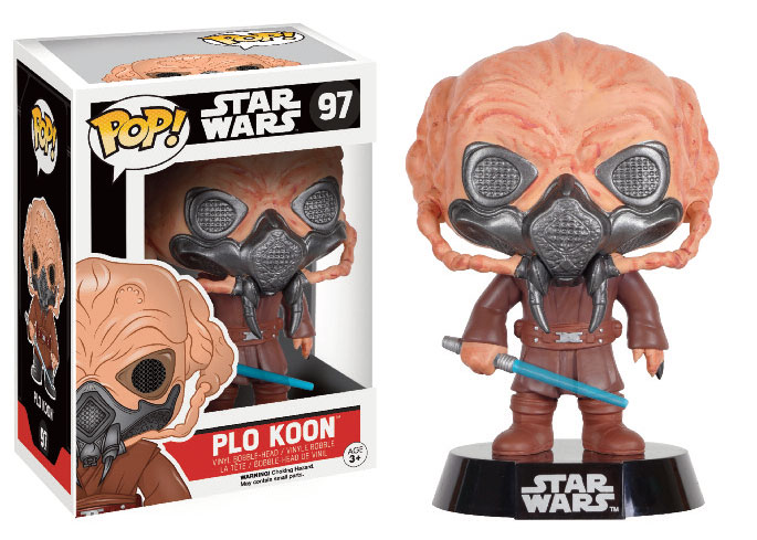 Photo du produit STAR WARS POP! VINYL BOBBLE HEAD PLO KOON LIMITED EDITION