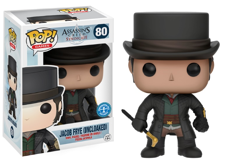 Photo du produit FUNKO POP ASSASSIN'S CREED SYNDICATE JACOB FRYE (UNCLOAKED)