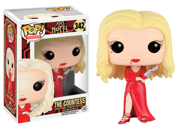Photo du produit AMERICAN HORROR STORY HOTEL POP! TELEVISION VINYL FIGURINE THE COUNTESS