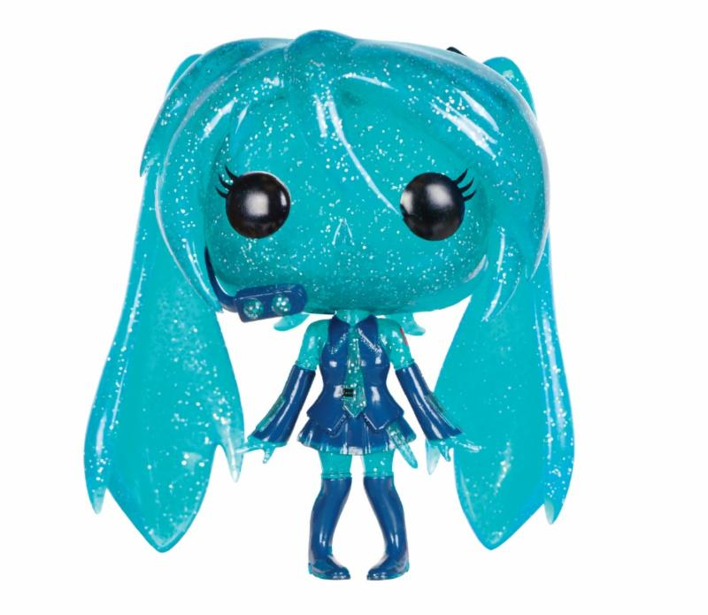 Photo du produit VOCALOID POP! ROCKS VINYL FIGURINE HATSUNE MIKU (CRYSTAL)