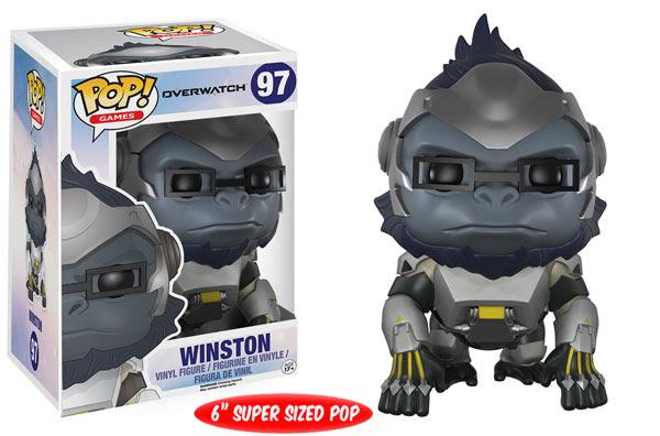 Photo du produit Overwatch Funko Pop! Winston Oversized