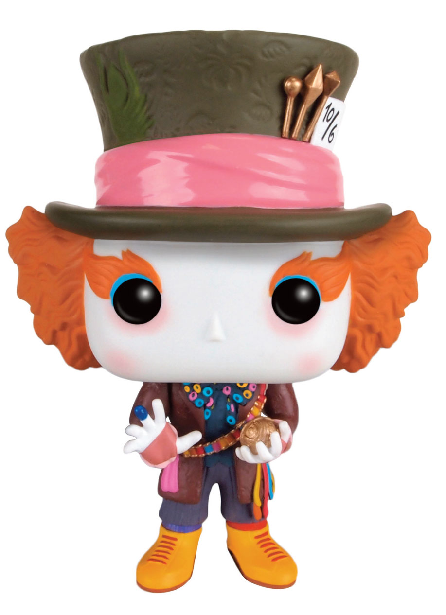 Photo du produit ALICE DE L'AUTRE COTE DU MIROIR POP! DISNEY FIGURINE FUNKO MAD HATTER (CHRONOSPHERE)
