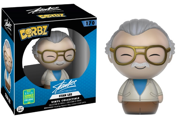 Photo du produit SDCC 2016 FUNKO DORBZ STAN LEE EXCLUSIVE