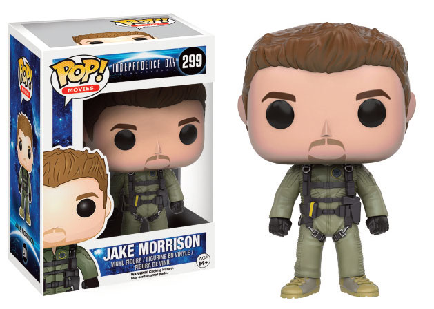 Photo du produit INDEPENDENCE DAY 2 FUNKO POP JAKE MORRISON 9 CM