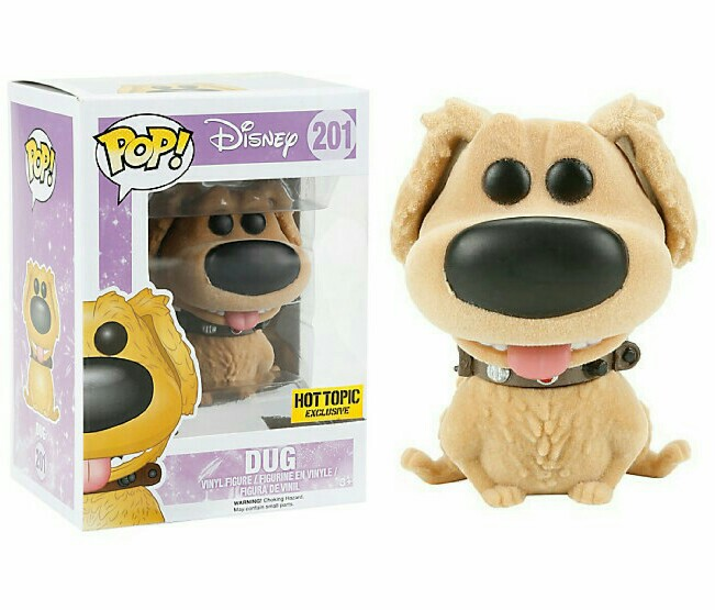 Photo du produit DISNEY LA HAUT FUNKO POP DUG FLOCKED LIMITED EDITION