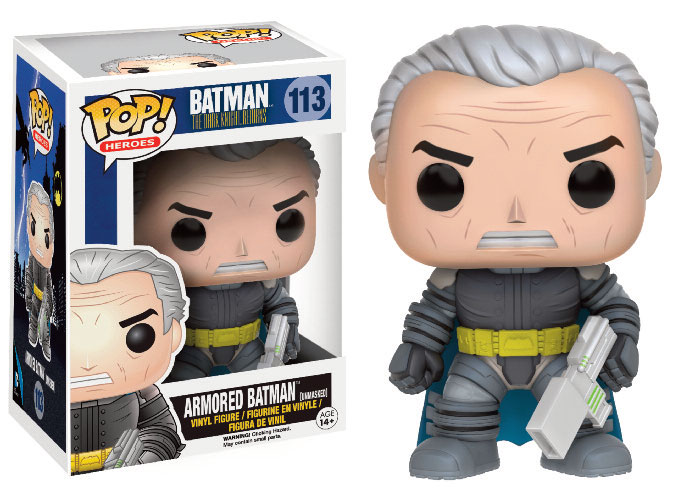 Photo du produit FUNKO POP ARMORED BATMAN UNMASKED - BATMAN THE DARK KNIGHT RETURNS
