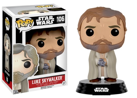 Photo du produit STAR WARS EPISODE VII POP! VINYL BOBBLE HEAD LUKE SKYWALKER (BEARDED)