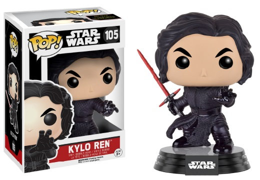 Photo du produit STAR WARS EPISODE VII POP! VINYL BOBBLE HEAD KYLO REN (BATTLE POSE)