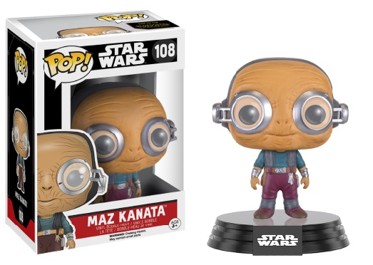 Photo du produit STAR WARS EPISODE VII POP! VINYL BOBBLE HEAD MAZ KANATA