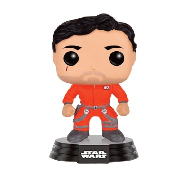 Photo du produit STAR WARS EPISODE VII POP! VINYL BOBBLE-HEAD FIGURE POE DAMERON JUMPSUIT LIMITED