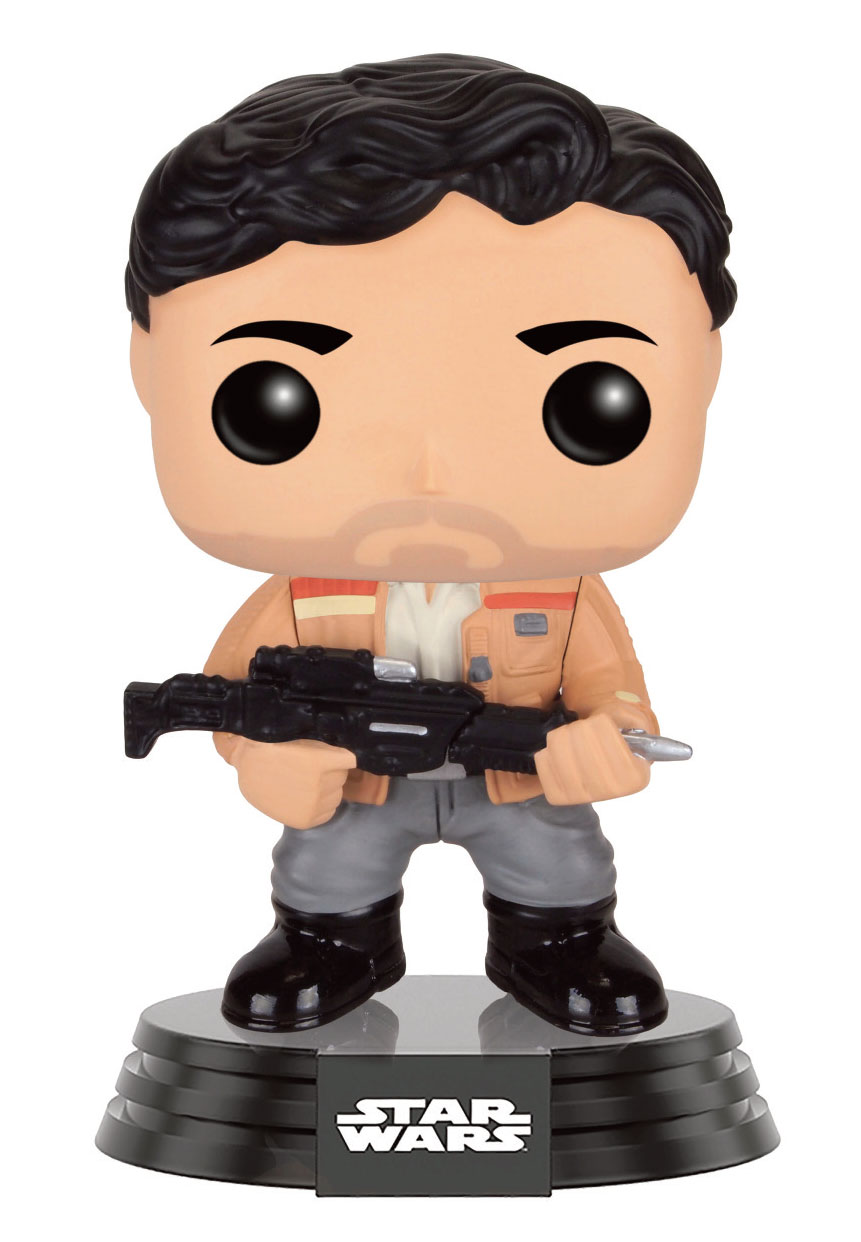 Photo du produit STAR WARS EPISODE VII POP! VINYL BOBBLE HEAD POE DAMERON (RESISTANCE)