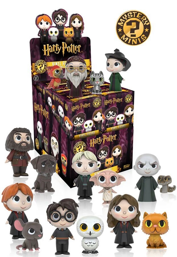 Photo du produit HARRY POTTER PRESENTOIR MYSTERY MINI 12 FIGURINES SERIES 1