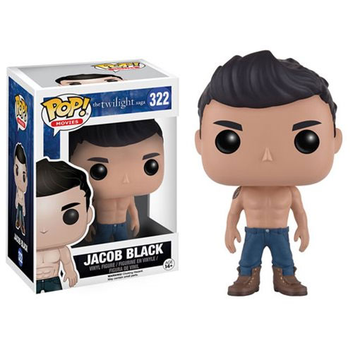 Photo du produit TWILIGHT FUNKO POP! JACOB BLACK