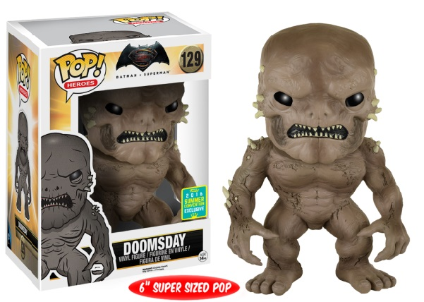 Photo du produit SDCC 2016 FUNKO POP BATMAN V SUPERMAN DOOMSDAY EXCLUSIVE