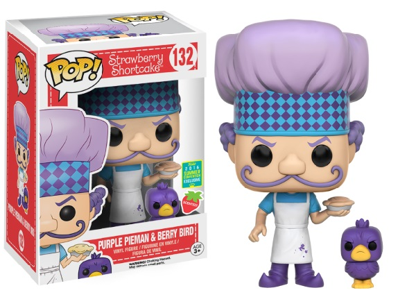 Photo du produit SDCC 2016 FUNKO POP CHARLOTTE AUX FRAISES PURPLE PIEMAN EXCLUSIVE