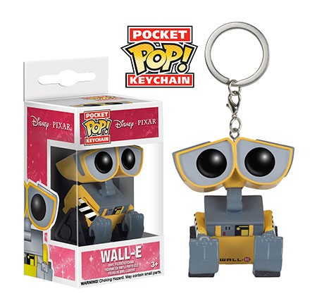 Photo du produit WALL-E PORTE-CLES POCKET POP! VINYL WALL-E