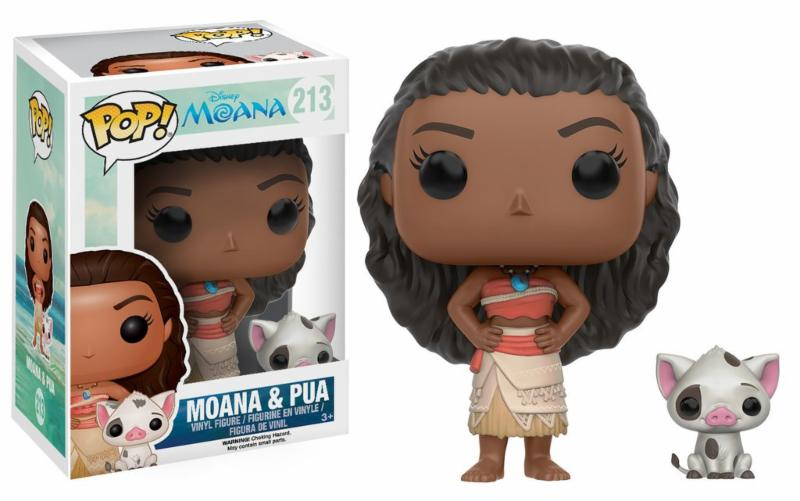 Photo du produit MOANA LA PRINCESSE AU BOUT DU MONDE POP DISNEY VAIANA & PUA
