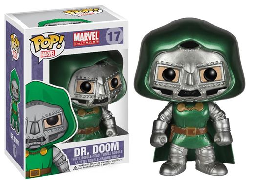 Photo du produit FUNKO POP DR DOOM VERSION METALLIQUE