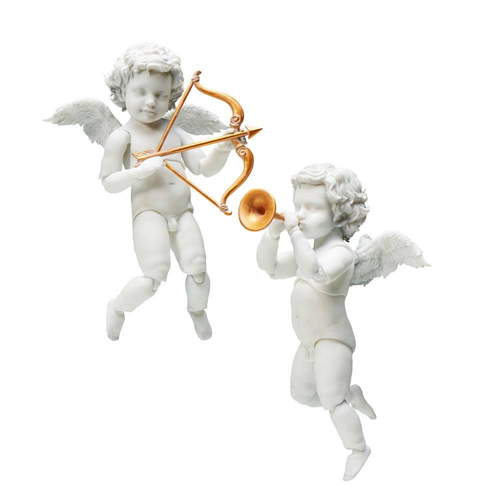 Photo du produit THE TABLE MUSEUM PACK 2 FIGURINES FIGMA ANGEL 10 CM