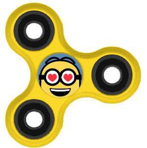 Photo du produit MOI, MOCHE ET MECHANT FIDGET SPINNER / HAND SPINNER MINION  LOVER