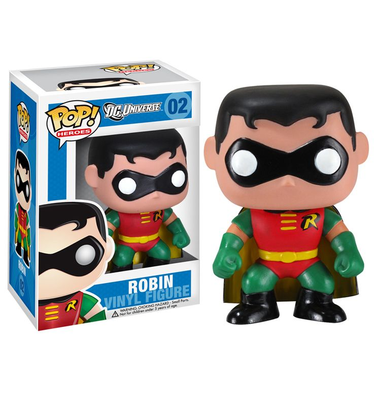 Photo du produit DC UNIVERSE FUNKO POP ROBIN