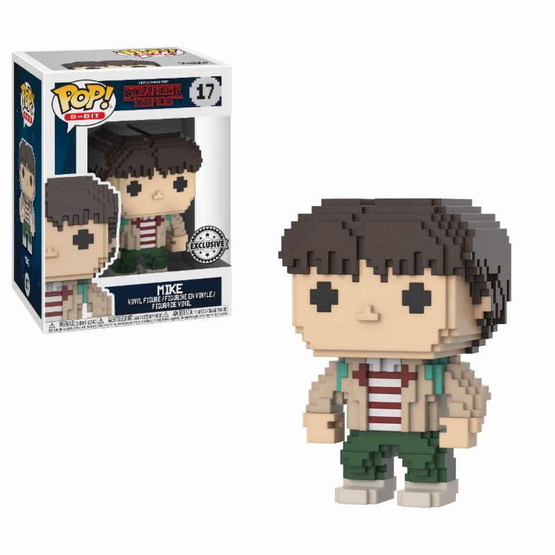 Photo du produit FIGURINE MIKE 8-BIT (STRANGER THINGS) | FUNKO POP