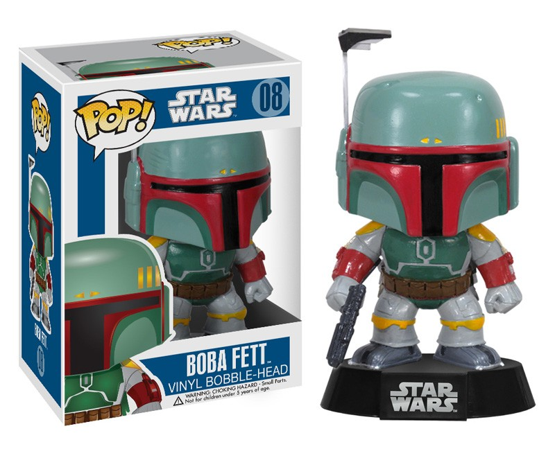 Photo du produit FIGURINE FUNKO POP STAR WARS BOBA FETT