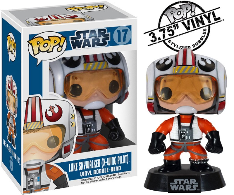 Photo du produit FIGURINE FUNKO POP STAR WARS LUKE SKYWALKER PILOT