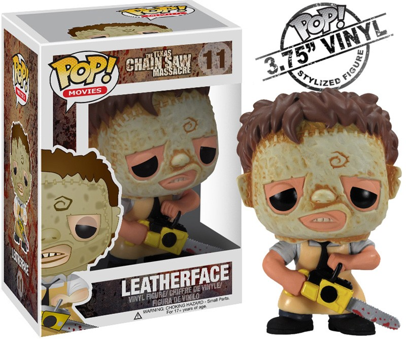 Photo du produit FUNKO POP MOVIES LEATHERFACE