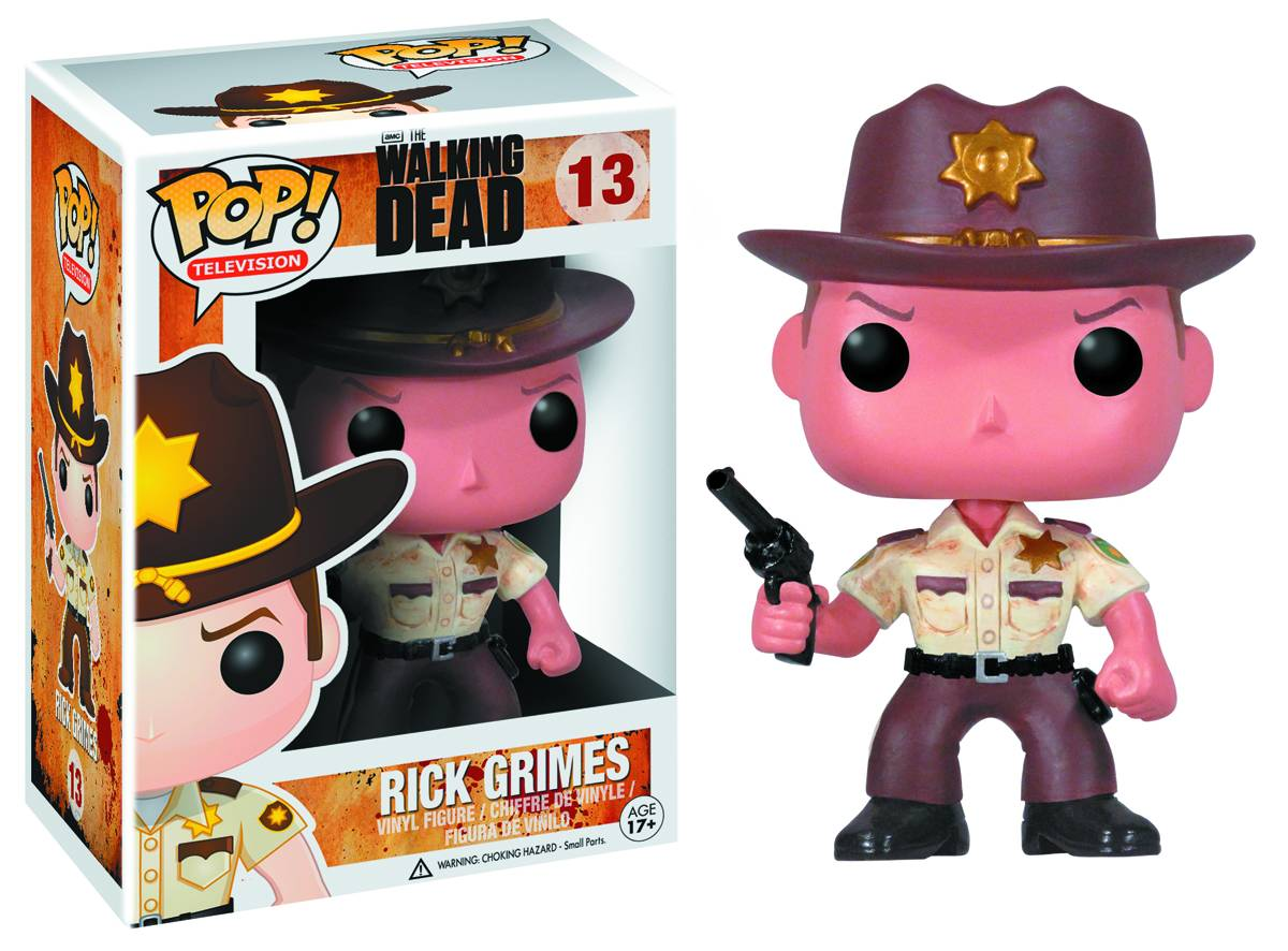 Photo du produit FIGURINE FUNKO POP THE WALKING DEAD RICK GRIMES
