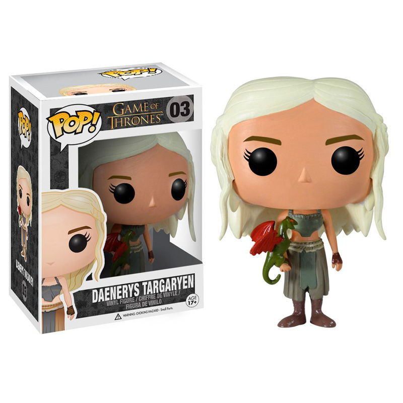 Photo du produit FUNKO POP GAME OF THRONES DAENERYS TARGARYEN