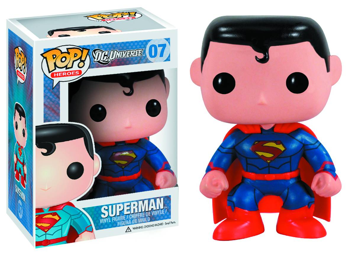 Photo du produit DC COMICS NEW 52 POP SUPERMAN PX EXCLU