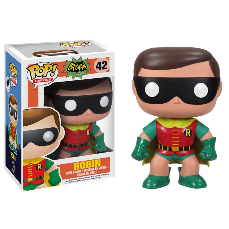 Photo du produit FUNKO POP BATMAN 1966 ROBIN