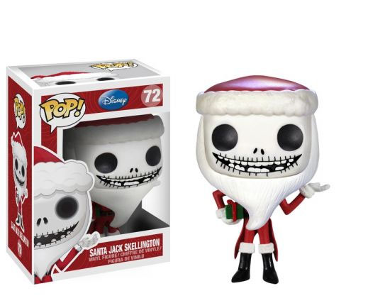 Photo du produit L'ETRANGE NOEL DE MONSIEUR JACK FUNKO POP SANTA JACK SKELLINGTON