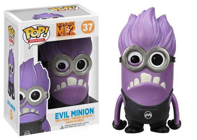 Figurine funko pop moi moche et mechant 2 evil minion - Mechant minion ...