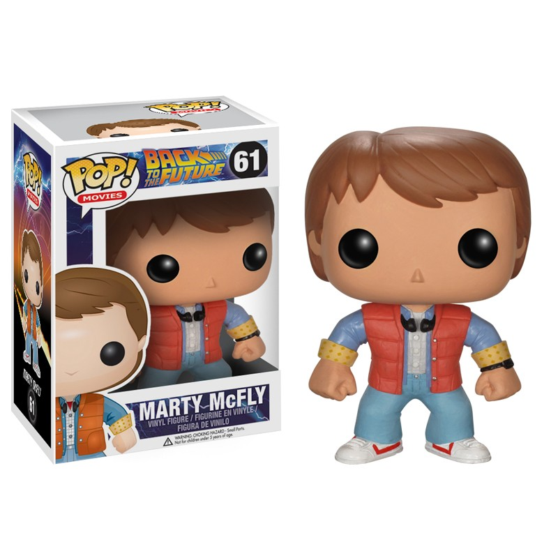 Photo du produit FIGURINE FUNKO POP MARTY McFLY RETOUR VERS LE FUTUR