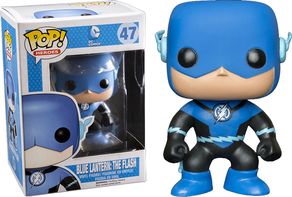 Photo du produit DC HEROES FUNKO POP BLUE LANTERN FLASH