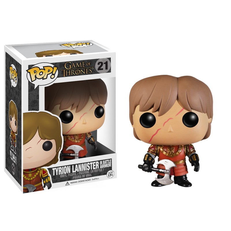 Photo du produit FUNKO POP GAME OF THRONES TYRION LANNISTER BATTLE ARMOR