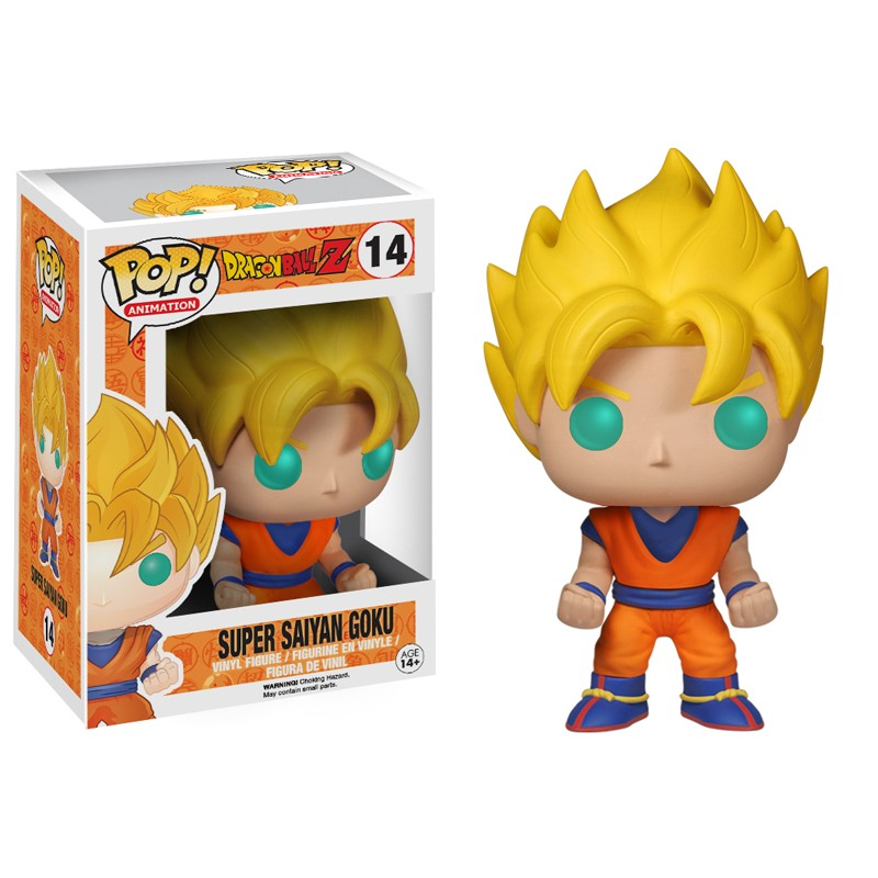 Photo du produit DRAGON BALL Z FUNKO POP SUPER SAIYAN GOKU